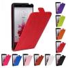 เคส LG G3 แบบฝาพับหนังเทียมสีคลาสสิค สีสดใส ฃเปิดด้านบน ราคาถูก
