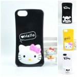 case iphone 5 เคสไอโฟน5 คิตตี้ Hello Kitty ซิลิโคน TPU กางหัวคิตตี้เป็นขาตั้งได้