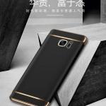 เคส Samsung Note 5 พลาสติกขอบทองสวยหรูหรามาก ราคาถูก
