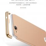 เคส OPPO Joy 5 / OPPO Neo 5s พลาสติกขอบทองสวยหรูหรามาก ราคาถูก