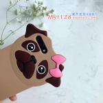 เคส iPhone 7 (4.7 นิ้ว) ซิลิโคน soft case น้องหมาติดกิ๊บน่ารักมากๆ ราคาถูก