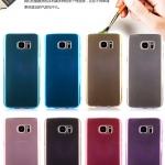 เคส Samsung S7 Edge ซิลิโคน TPU soft case แบบฝาพับโปร่งใสสีต่างๆ สวยงามมากๆ ราคาถูก