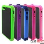 case iphone 5 เคสไอโฟน5 เคสกันลื่น กันกระแทก สวยๆ แกร่งๆ Color protective sleeve