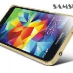 เคส S5 Case Samsung Galaxy S5 LOVEMEI Bumper ขอบเคสโลหะ ปิดด้วยตัวล๊อค ไม่ต้องไขน๊อต buckle metal frame border