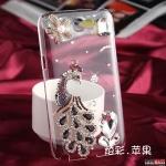 เคส Note 2 Case Samsung Galaxy Note 2 เคสนกยูงประดับเพชรสวยๆ น่ารักๆ