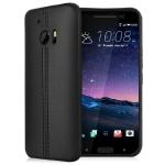 Case HTC 10 (HTC M10) ซิลิโคนสีดำสุดหรูเลียนแบบหนังเทียม imak สวยมากๆ ราคาถูก