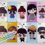 case iphone 5 เคสไอโฟน5 ลายการ์ตูนน่ารักๆ มีหลายแบบ