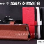 เคส iphone 6 plus (5.5) แบบฝาพับหนังเทียม สามารถพับตั้งได้ ราคาส่ง ราคาถูก