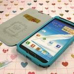 เคส Note 2 Case Samsung Galaxy Note 2 II N7100 เคสหนังฝาพับข้าง เชือกถัก ใส่โดยไม่ต้องใช้เคสแข็ง สวยๆ นุ่มๆ ดูดีสุดๆ Matilanuo real leather