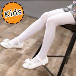 [ไซส์เด็ก] K8296 ถุงน่องเด็ก สีพื้น Solid Color