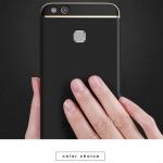 เคส Huawei P10 Lite พลาสติกขอบทองสวยหรูหรามาก ราคาถูก