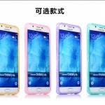 เคส Samsung Galaxy A8 ซิลิโคน TPU soft case แบบฝาพับโปร่งใสสีต่างๆ สวยงามมากๆ ราคาถูก
