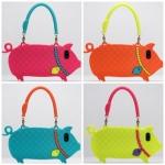 เคสไอโฟน5 เคสกระเป๋าถือน้องหมูน่ารักๆ ใช้แล้วรวย อิอิ Lanyards cute piggy bag เคสมือถือราคาถูกขายปลีกขายส่ง