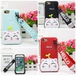 เคส iPhone 6 / 6s (4.7 นิ้ว) ซิลิโคน soft case แบบนิ่มน่ารักมาก พร้อมสายคล้องเข้าชุด ราคาถูก