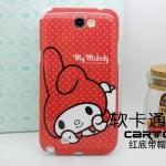 Case Note 2 เคส Note 2 เคสซิลิโคน TPU นิ่มๆ ลายการ์ตูนน่ารักๆ หลายลาย Samsung N7100 mobile phone protective shell cartoon TPU Silicone Case