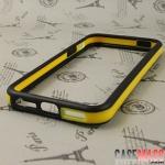 case iphone 5 เคสไอโฟน5 ขอบเคสสีสวยตัดกัน มีปุ่มกด Bumpers two-color border