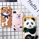 เคส iPhone 7 (4.7 นิ้ว) ซิลิโคน soft case การ์ตูน 3 มิติ แสนน่ารัก ราคาถูก