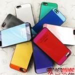 case iphone 5 เคสไอโฟน5 เคสทูโทนสีเจ็บๆ บางๆ เท่ๆ Two-color A-level bronzing