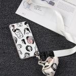 เคส OPPO A37 พลาสติก TPU ลายการ์ตูนสุดกวน พร้อมสายคล้องมือและกระเป๋าเก็บสายหูฟัง ราคาถูก