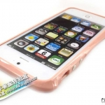 case iphone 5 เคสไอโฟน5 ขอบเคสพลาสติกสีหวานๆ เงาๆ Candy-colored border