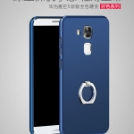 เคส Huawei Nova Plus พลาสติกสีพื้นผิวเรียบเคลือบเมทัลลิค พร้อมแหวน สวยงาม ราคาถูก