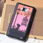 Case S2 Case Samsung Galaxy S2 i9100 hero86 เคสพลาสติกลายการ์ตูนน่ารักๆ ลายอาร์ตๆ แนวๆ