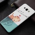 Case Samsung Galaxy A8 TPU แผ่นหลังสกรีนลายกราฟฟิคเท่ๆ สวยๆ ดูมีราคาหรูหรา ราคาส่ง ราคาถูก ราคาปลีก
