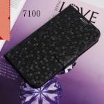 Case Samsung Galaxy Note 2 เคสหนังเทียมกระเป๋าฝาพับข้าง ลายรังผึ้งเป็นประกายสวยๆ เคสมือถือราคาถูกขายปลีกขายส่ง