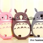 Case Samsung Galaxy S4 i9500 ซิลิโคน 3D Totoro การ์ตูนสุดฮิต เคสมือถือ ราคาถูก ขายส่ง -B-