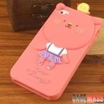 case iphone4s เคสไอโฟน4s เคสซิลิโคน 3D ROMANE MOMO BLOG Collection สุดฮิต ยอดนิยม น่ารักๆ