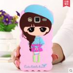 เคส J7 Case Samsung Galaxy J7 ซิลิโคนเด็กผู้หญิงแสนหวานน่ารักแนวคุณหนู ร่าเริง สดใส ราคาส่ง ราคาถูก ราคาปลีก