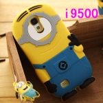 Case S4 เคส Samsung Galaxy S4 i9500 เคสซิลิโคน 3D despicable me 2 น่ารักๆ