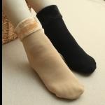 [พร้อมส่ง] S7689 ถุงเท้าบุขนกำมะหยี่หนา เพิ่มความอบอุ่นให้เท้าของคุณ