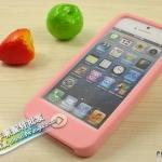 case iphone 5 เคสไอโฟน5 เคสซิลิโคนนิ่มๆ สีพื้นเรียบ มีปุ่มกดใหญ่ตัดสี SwitchEasy Colors silicone