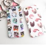 Case iPhone 6s, iPhone 6 (4.7 นิ้ว) พลาสติกลายน้องหมา น้องแมวแสนน่ารัก ราคาถูก