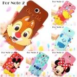 Case Samsung Galaxy Note 2 ซิลิโคน 3D มินนี่ มิกกี้ สติช มอนสเตอร์ ชิฟเดล หมีพูห์ เคสมือถือ ขายส่ง ราคาถูก -B-