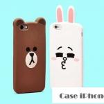 case iphone 6 (4.7) ซิลิโคน TPU 3มิติ การ์ตูน หมี กระต่าย สุดน่ารัก ราคาส่ง ราคาถูก