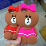 Case iPhone 6s, iPhone 6 (4.7 นิ้ว) ซิลิโคน TPU 3 มิติ หมีน้อยแสนน่ารัก ราคาถูก