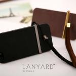 case iphone 5 เคสไอโฟน5 SwitchEasy Lanyard iPhone 5 เคสผิวไม่เรียบกันลื่น มีคลิปสายห้อยคาดกลางเครื่อง ถอดสลับซ้าย-ขวาได้ สวยๆ มีแผ่นปิดฝุ่นด้านล่างตัวเครื่องด้วย หรูหราไฮโซ สวยเนี๊ยบ