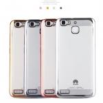 เคส Huawei GR3 ซิลิโคน soft case โปร่งใสขอบเงางามแวววาว ราคาถูก