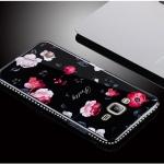 เคส Samsung J2 Prime พลาสติกลายดอกไม้สุดวิ้งสวยงาม ราคาถูก (ไม่รวมสายคล้องและแหวน)