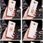 เคส Samsung Galaxy J5 ซิลิโคน TPU ขอบทอง / โรสโกลด์ สวยงามมากๆ หรูหราสุดๆ ราคาถูก