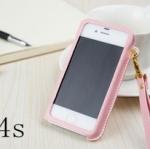 case iphone 4/4s เคสไอโฟน4/4s AOWEI ซองหนังโชว์หน้าจอหรูๆ