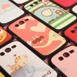 Case Samsung Galaxy Grand i9082-i9080 เคสพิมพ์ลายการ์ตูน จับคู่ น่ารักๆ ฮิตๆ ยอดนิยม cartoon couple stickers cortex sense protective shell