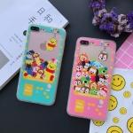 Case iPhone SE / 5s / 5 พลาสติกสกรีนลายเกมส์ tsum tsumสุดน่ารัก ราคาถูก