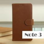 case note 3 เคส Samsung Galaxy note 3 เคสกระเป๋าหนังฝาพับข้าง สีโทนเข้มขรึม น้ำตาล-ดำ ใส่บัตรได้ พับตั้งได้ ราคาส่ง ขายถูกสุดๆ