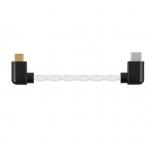 ขาย Shanling L2 สาย USB Type C เป็น Micro USB คุณภาพดี ทองแดงชุบเงินแบบ 30 AWG Mini to Mini ยาว 10CM