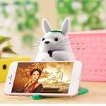 ที่วางโทรศัพท์,ที่วางมือถือ ฐานซิลิโคนกันลื่น ตุ๊กตา Totoro น่ารักมากๆ ราคาถูก
