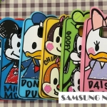 Case Samsung Galaxy Note 5 ซิลิโคนมินี่ มิกกี้ ชิฟเดล เดซี่ โดนัลด์ คล้ายแบบภาพวาด -B-