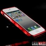 case iphone 5 เคสไอโฟน5 iMATCH bumper กรอบเคสทำจากไทเทเนียมอัลลอยน้ำหนักเบาไม่ปิดกั้นสัญญาณ แยก 2 ชิ้นประกบหน้าหลัง พร้อมยางกันรอยรอบกรอบด้านใน iMATCH Genuine imatch generation iphone5 A titanium alloy bumper